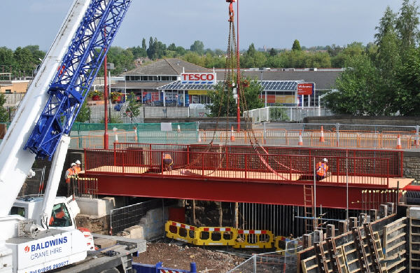 Droylsden Footbridge (Photo: GMPTE)