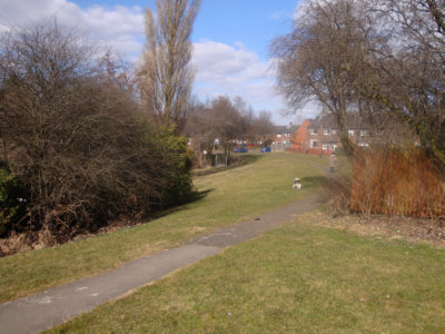 Hollinwood Canal route